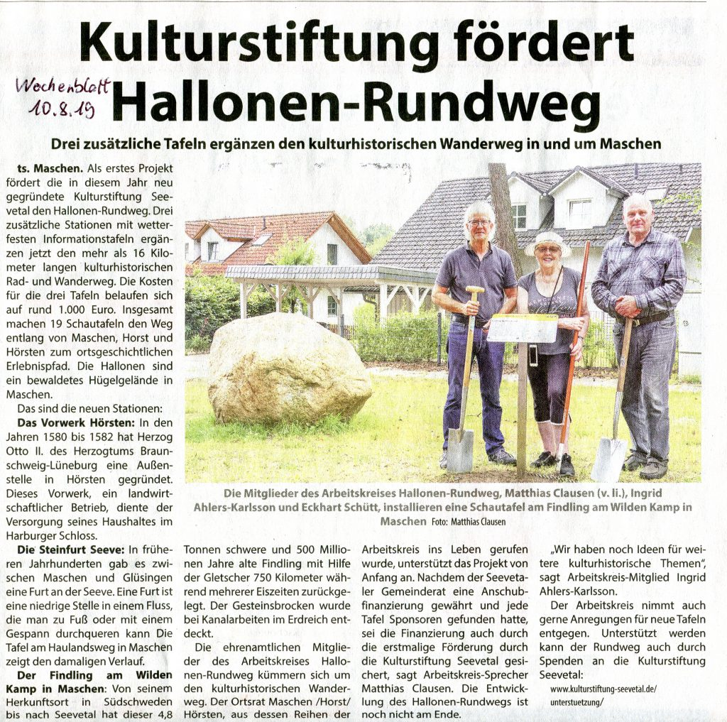 Wochenblatt 10.8.2019
